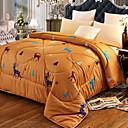billige Tæpper ogplaider-Komfortabel - 1 stk dynetæppe Vinter Polyester Geometrisk