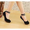 hesapli Anime Kostümleri-Kadın's Ayakkabı PU Bahar Topuklular Stiletto Topuk Günlük için Siyah / Kırmzı / Pompalar
