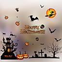 cheap Window Film & Stickers-Window Film & Stickers Decoration Halloween Holiday PVC(PolyVinyl Chloride) Cool