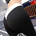 povoljno Odjeća za fitness, trčanje i jogu-Žene Kolaž Hlače za jogu Slovo Spandex Zumba Trčanje Plesne Biciklizam Hulahopke Tajice Odjeća za rekreaciju Ovlaživanje Anatomski dizajn Kompresija Butt Lift Rastezljivo Uske