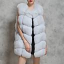 cheap Wedding Wraps-Women's Club Sexy / Sophisticated Plus Size Vest - Leopard, Patchwork