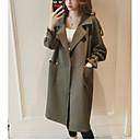 povoljno Modne naušnice-duga jakna za žene - čvrste boje