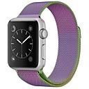 abordables Reloj Smart Accesorios-Acero Inoxidable Ver Banda Correa para Apple Watch Series 3 / 2 / 1 Morado 23cm / 9 pulgadas 2.1cm / 0.83 Pulgadas