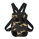 cheap Dog Travel Essentials-Dogs / Cats Carrier & Travel Backpack Pet Carrier Portable / Casual / Daily Leopard Camouflage Color