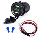 billige Deler til motorsykkel og ATV-Motorsykkel Bil Lader 2 USB-porter til 5 V