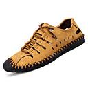 זול נעלי אוקספורד לגברים-בגדי ריקוד גברים נעלי נוחות דמוי עור / PU קיץ ספורטיבי סנדלים ללא החלקה שחור / חום / חאקי