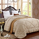 cheap Quilts & Coverlets-Comfortable - 1pc Comforter Winter White Goose Down Solid Colored