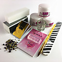 cheap Nail Glitter-Acrylic Kit Durable nail art Manicure Pedicure Simple Daily