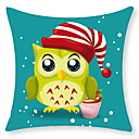 cheap Cushion Sets-1 pcs Velvet Pillow With Insert, Owl European Style