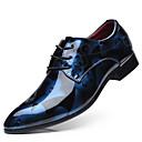 ราคาถูก รองเท้าOxfordสำหรับผู้ชาย-สำหรับผู้ชาย รองเท้าอย่างเป็นทางการ PU ฤดูใบไม้ผลิ ธุรกิจ รองเท้า Oxfords สีเหลือง / แดง / ฟ้า