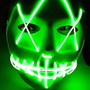 cheap Halloween Party Supplies-Holiday Decorations Halloween Decorations Halloween Masks / Halloween Entertaining Cool Green 1pc