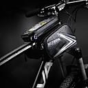 abordables Bolsas para Cuadro de Bici-Bolsa para Manillar Pantalla táctil, Ciclismo, Cremallera impermeable Bolsa para Bicicleta Cuero de PU / TPU Bolsa para Bicicleta Bolsa de Ciclismo Ciclismo Bicicleta