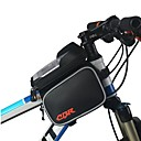 cheap Motorcyle Helmets-Bike Frame Bag 6 inch Cycling for iPhone 8 Plus / 7 Plus / 6S Plus / 6 Plus Black