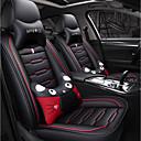 זול משענת ראש לרכב-ODEER כיסויי למושבים לרכב משענת ראש & ערכות מותן כרית שחור / אדום טֶקסטִיל / דמוי עור- סקאי סרט מצוייר עבור אוניברסלי כל השנים כל הדגמים