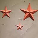 baratos Adesivos de Unhas-Férias Decoração de Parede Metal Pastoril Arte de Parede, Decorações de Metal para Parede Decoração