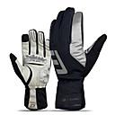 preiswerte Handschuhe-Sporthandschuhe Fahrradhandschuhe / Touch- Handschuhe warm halten / tragbar / Atmungsaktiv Vollfinger Gummi / Silica Gel / Mikrofaser Radsport / Fahhrad Herrn / Damen