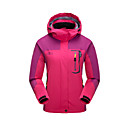cheap Softshell, Fleece & Hiking Jackets-Men's Women's Hoodie & Sweatshirt Hiking Jacket outdoor Autumn / Fall Spring Winter Windproof Rain-Proof Breathability Sweat-Wicking 100% Polyester Synthetic Leather Jacket Top Single Slider Camping