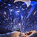 baratos Adesivos de Parede-BRELONG® 1pç Sky Projector NightLight RGB + quente Baterias AA alimentadas Criativo / Aniversário / Decoração <5 V