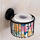 cheap Shower Faucets-Toilet Paper Holder New Design / Cool Modern Brass 1pc Toilet Paper Holders Wall Mounted