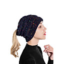 رخيصةأون زهور اصطناعية-قبعة مرنة ألوان متناوبة نسائي - مطوي بوليستر, أساسي / عطلة / الصيف / كل الفصول
