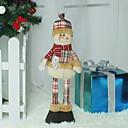 baratos Decorações Natalinas-Ornamentos Natal Tecido Brinquedo dos desenhos animados Decoração de Natal
