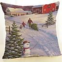 billige Putevar-Putevar Jul / Ferie Bomull Rektangulær Originale julen Dekor