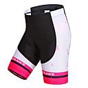 abordables Pinceles para Uñas-WOSAWE Mujer Pantalones Acolchados de Ciclismo Bicicleta Shorts / Malla corta / Pantalones Cortos Acolchados / Prendas de abajo Resistente al Viento, Secado rápido, Transpirable Rayas Poliéster, Licra