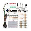 preiswerte Andere Teile-grundlegende Starter Kit / Breadboard Jumper Drähte Farbe LED-Widerstände Summer für Arduino Uno R3 Mega2560 Mega328 Nano