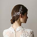 povoljno Party pokrivala za glavu-Legura Kose za kosu s Štras 1 komad Vjenčanje / Zabava / večer Glava