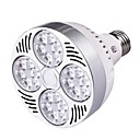 halpa LED-spottivalaisimet-YWXLIGHT® 1kpl 25 W LED-kohdevalaisimet 2350-2450 lm E26 / E27 24 LED-helmet SMD Lämmin valkoinen Kylmä valkoinen
