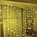 abordables Tiras de Luces LED-5 m Cuerdas de Luces 124 LED Blanco Cálido Decorativa 220-240 V 1 juego