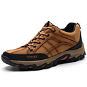 cheap Men's Sneakers-Men's Leather Shoes Nappa Leather Winter Vintage / Casual Sneakers Keep Warm Coffee / Brown