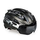 povoljno Svjetla za bicikle-INBIKE Odrasli Bike kaciga 25 Ventilacijski otvori EPS, PC Sportski Biciklizam / Bicikl - žuta / Plava / Pink Muškarci / Žene
