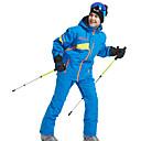 voordelige Gereedschap & Accessoires-Wild Snow Heren Ski-jack & broek waterdicht Winddicht Warm Skiën Wintersporten POLY Pakken Skikleding