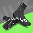 cheap Cycling Shoes-Shoe Cover Unisex Windproof / Waterproof Zipper / Wearable Mountain Bike / Road Bike PU Leather / Fleece Cycling / Bike