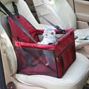 olcso Kutyák - kulcsdarabok utazáshoz-Cica / Kutya Autós üléshuzat Házi kedvencek Hordozók Vízálló / Hordozható / Állítható / Behúzható Egyszínű Piros / Kék / Rózsaszín