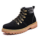 cheap Men's Boots-Men's Combat Boots PU(Polyurethane) Fall Casual Boots Breathable Mid-Calf Boots Black / Yellow / Brown