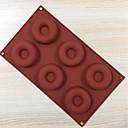 preiswerte Kuchenbackformen-Backwerkzeuge Silikon Gel Kreative Küche Gadget Neuheiten für die Küche Rechteckig Kuchenformen 1pc