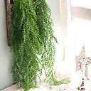 billige Kunstige planter-Kunstige blomster 1 Gren Veggmontert Pastorale Stilen Planter Veggblomst