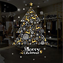 abordables Adhesivos de Pared-Calcomanías Decorativas de Pared - Calcomanías de Aviones para Pared Navidad Sala de estar / Comedor
