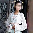 hesapli Dans kostümleri-Dans kostümleri Hanfu Kadın's Eğitim / Performans Pamuklu Tema / Baskı Uzun Kollu Palto