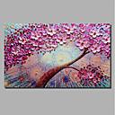 זול אומנות ממוסגרת-דפוס הדפסי בד מתוחים - חג ליל כל הקדושים / פרחוני / בוטני קלסי / מודרני