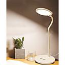 baratos Luminárias para Escrivaninha-o telefone esperto do brelong que carrega sem fio conduziu o candeeiro de mesa 1 da proteção do olho