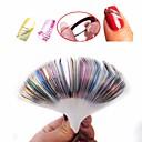 billige Rhinsten&Dekorationer-30 pcs Multifunktionel / Bedste kvalitet Miljøvenligt materiale Nail Foil Striping Tape Til Kreativ Negle kunst Manicure Pedicure Daglig / Festival Stilfuld
