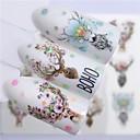 povoljno Ribolovni mamci-5 pcs Naljepnica za prijenos vode Los / Cvijet nail art Manikura Pedikura Najbolja kvaliteta pomodan / Moda Božić