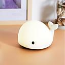 povoljno Sjenila-1pc Dupin kitova LED noćno svjetlo / Noćno svjetlo dječjeg vrtića Šarene USB Za djecu / Može se puniti / Zatamnjen 5 V