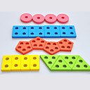 tanie Bloki blokujące-Klocki do łączenia Wzór geometryczny Nowoczesne Znakomity 1 pcs Sztuk Męskie Wszystko Zabawki Prezent