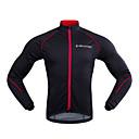 olcso Kerékpáros dzsekik-Realtoo Férfi Kerékpáros kabát Bike Tél Polár zsekik Klasszikus Tél Fekete / vörös Kerékpáros ruházat / Mikroelasztikus
