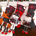 cheap Party Supplies-Ornaments / Favor Decoration Party Accessories Christmas / Party / Evening Christmas / Santa Suits / Elk Cloth Demin / Flannel