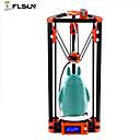 billige Tilbehør til 3D-skrivere-flsun-a2 diy 3d-skriverpakke utskriftstørrelse 180 * 180 * 300mm automatisk nivellering delta 3d skriver oppvarmet seng